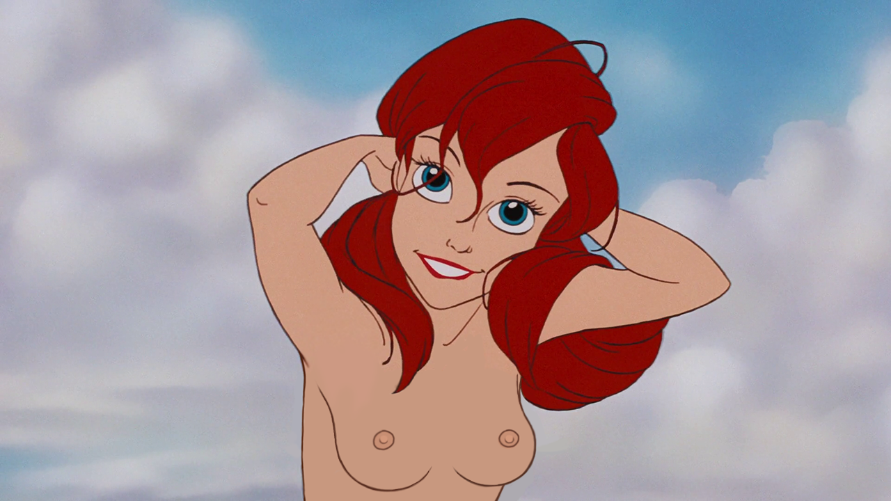 little mermaid naked boobs