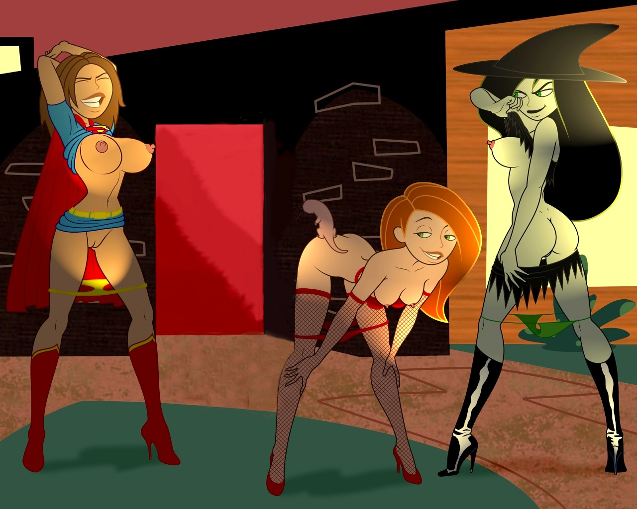Free Kim Possible Sex Game