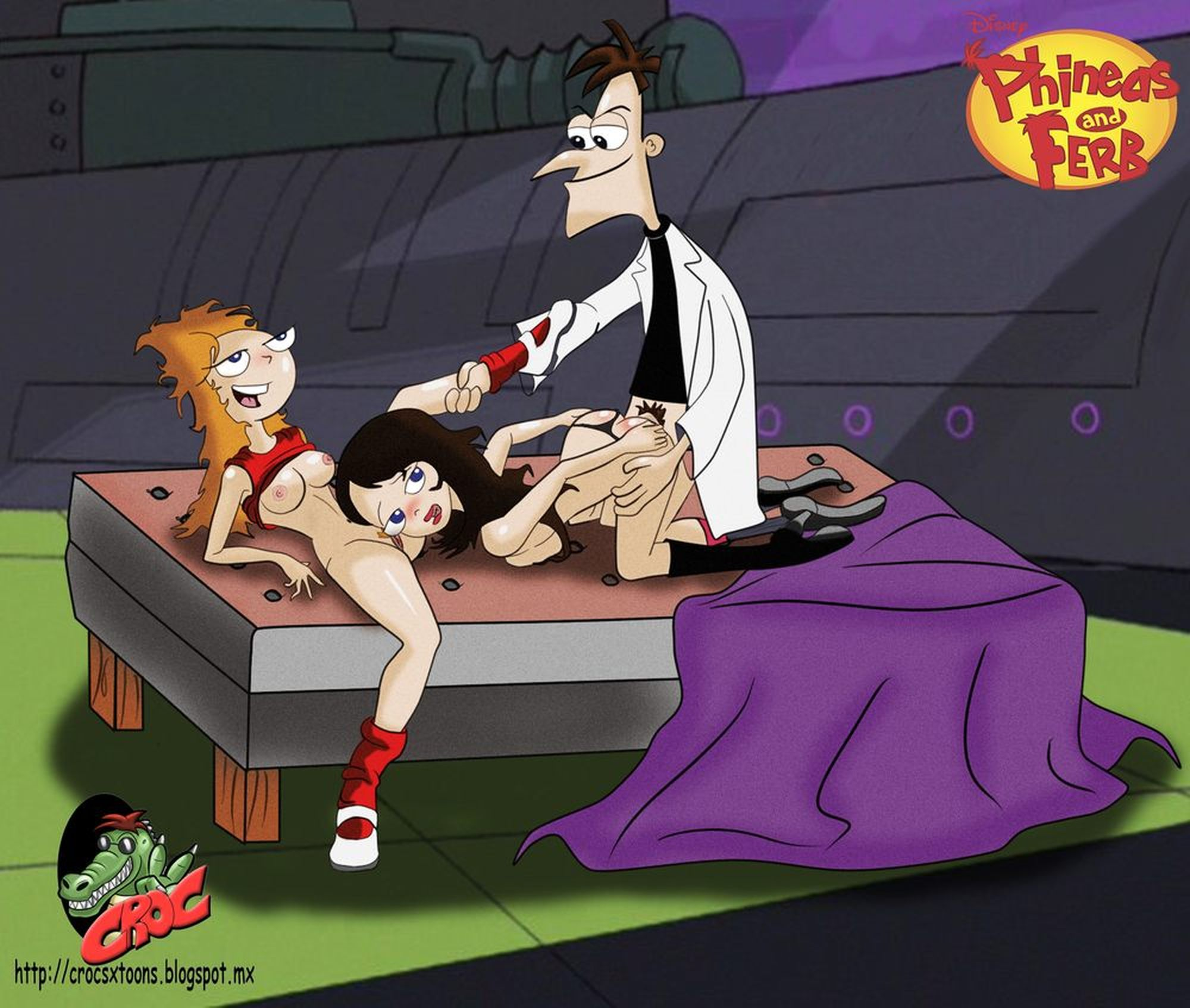 Assured, that Phineas and ferb is naked