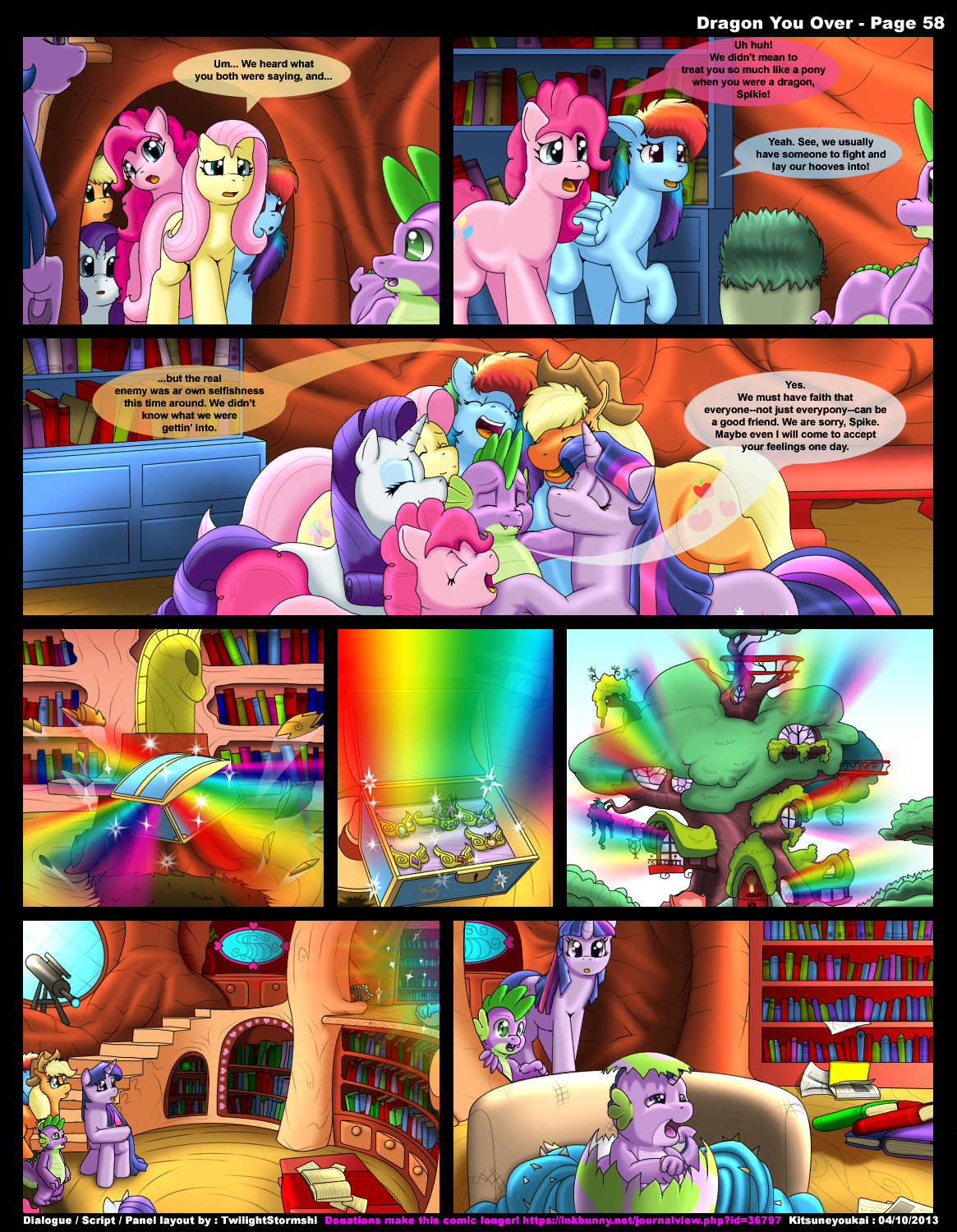 Applejack And Spike Porn Animation dragon you over - my little pony hentai doujinshi