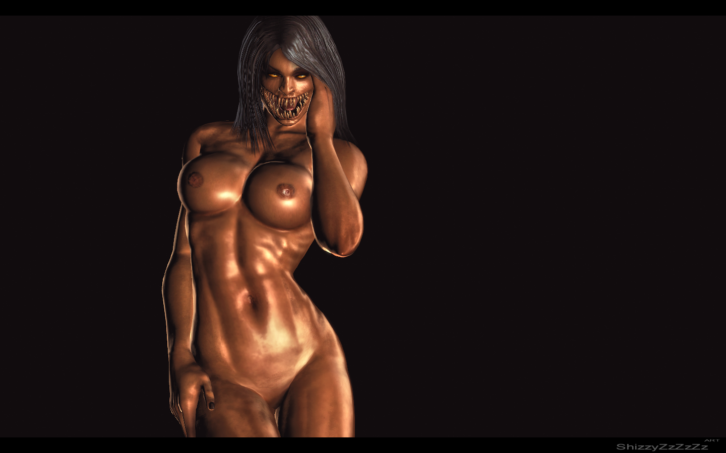 Naked Kombat Female 93