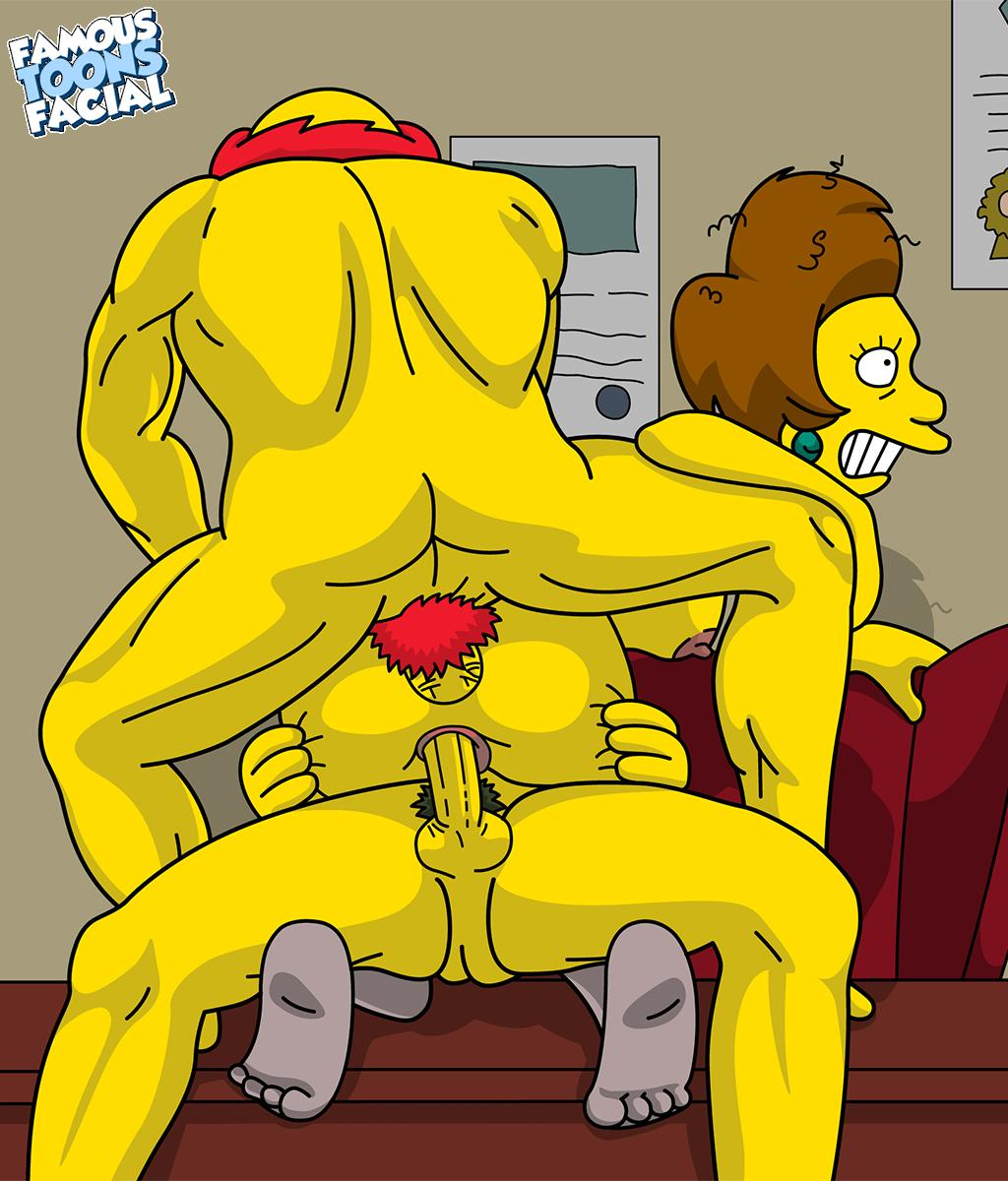 Most gorgeous simpsons sextoons her back