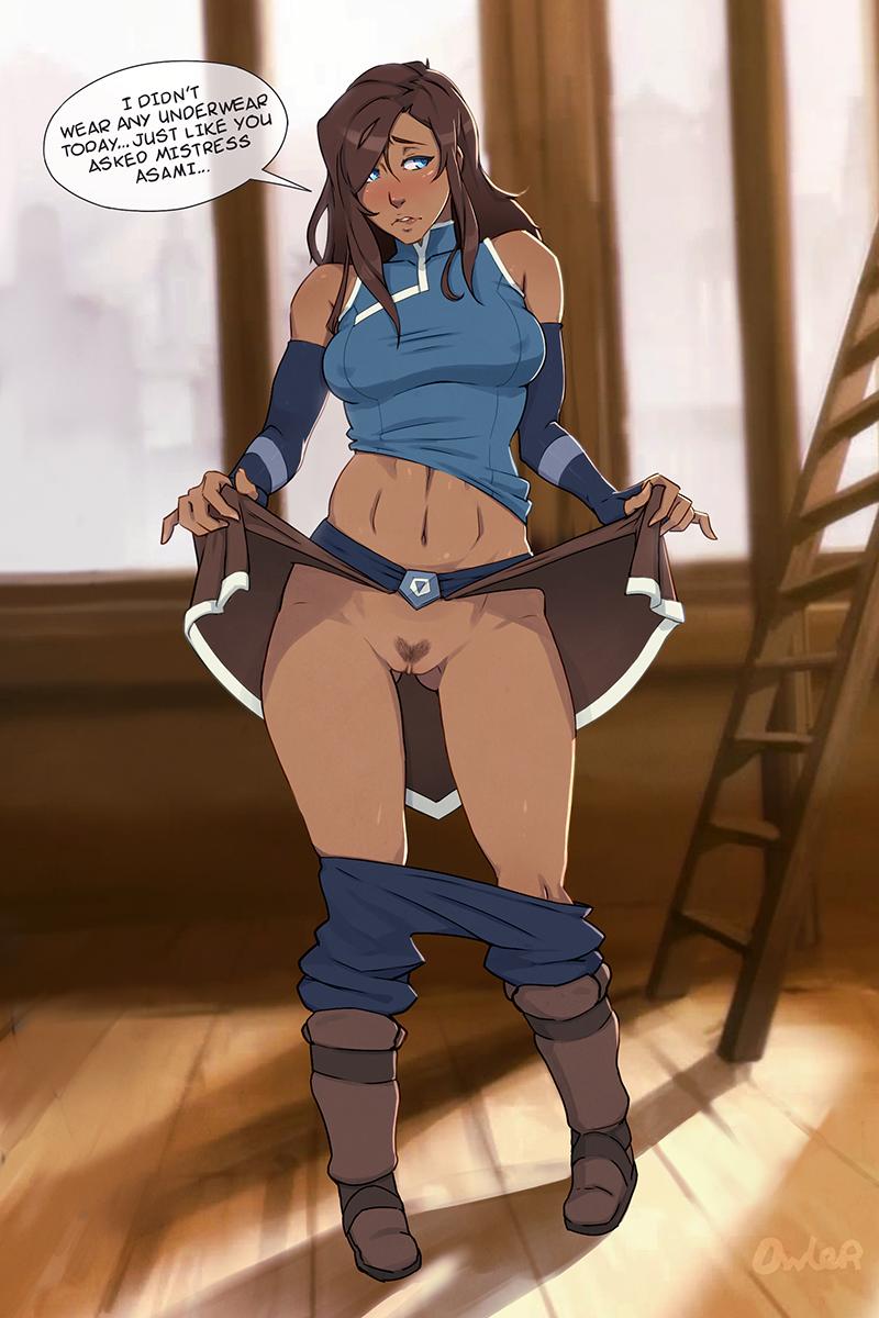 Nude Avatar Korra A Tight