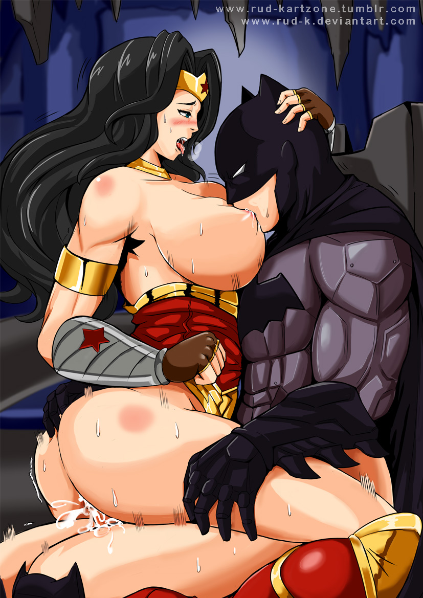 superman and wonderwoman porn