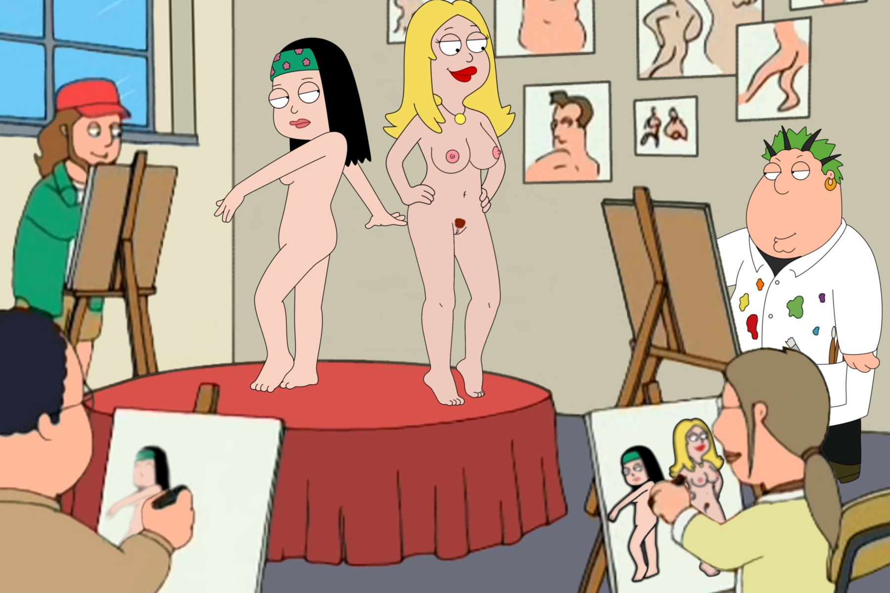 Showing porn images for family guy lessons porn