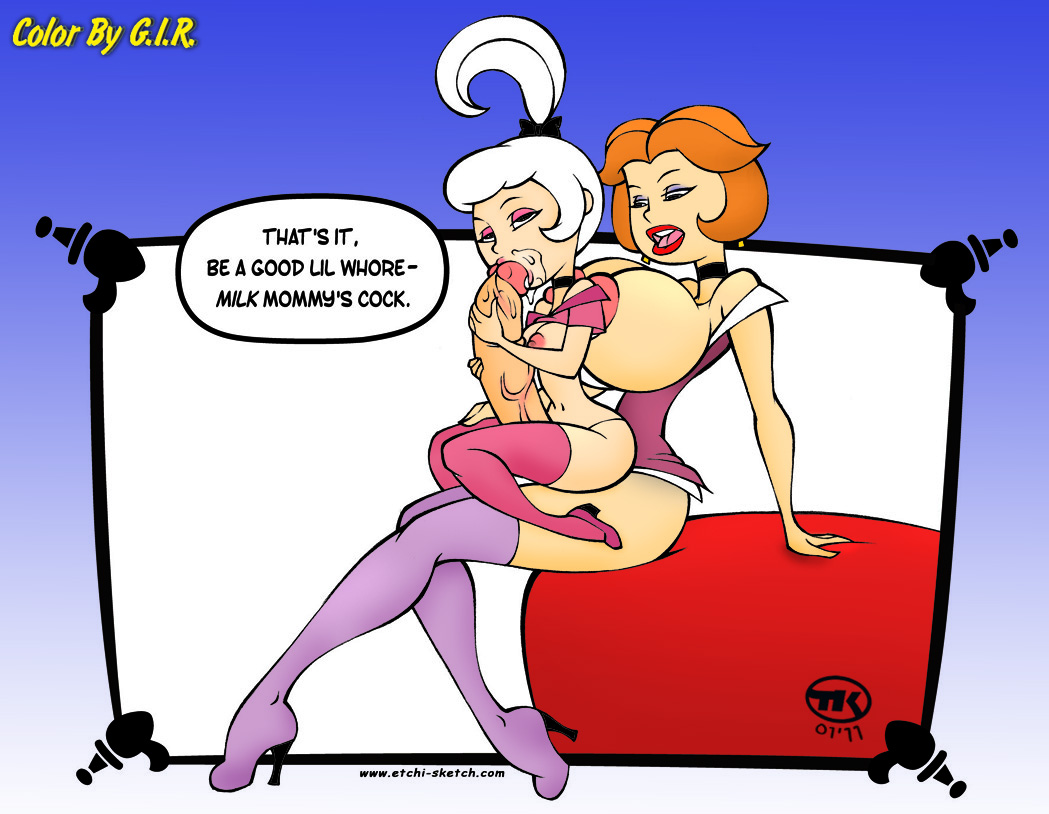 Orgy cartoon didn't get