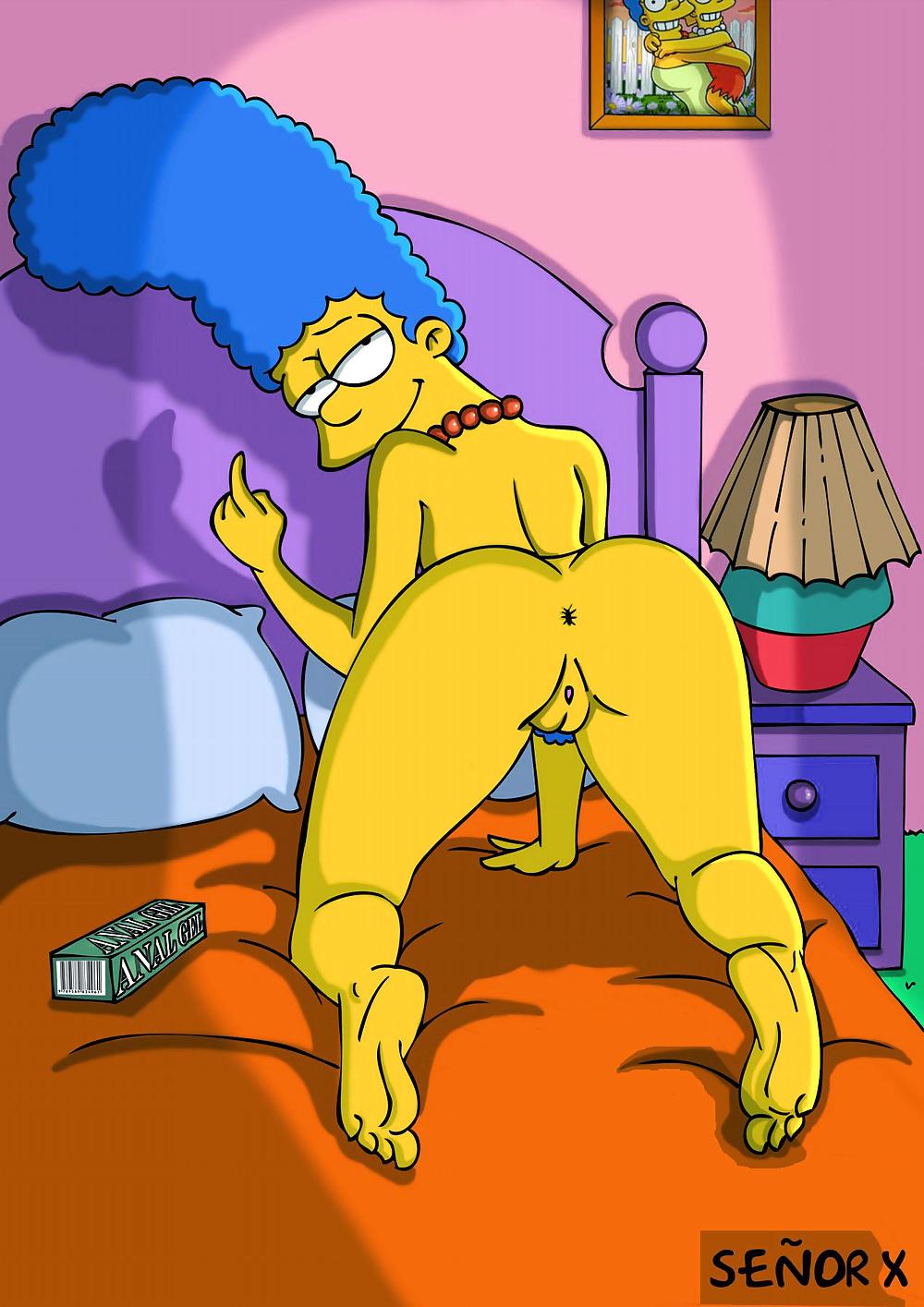 Simpsons hentai porno