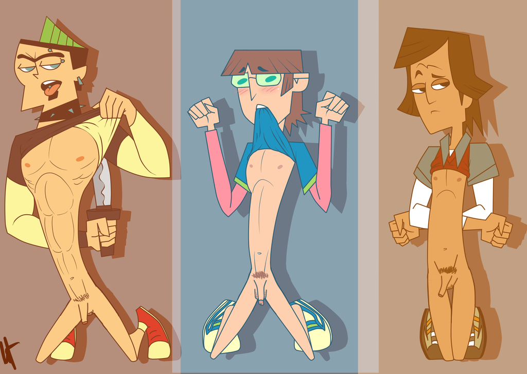 Total drama naked rather