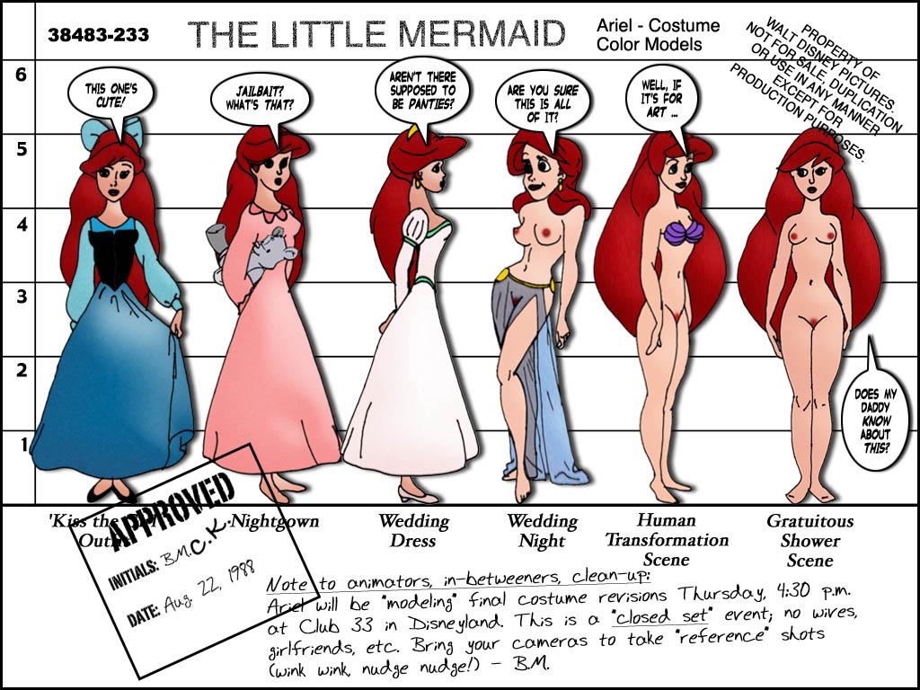 Porn little mermaid Ariel The