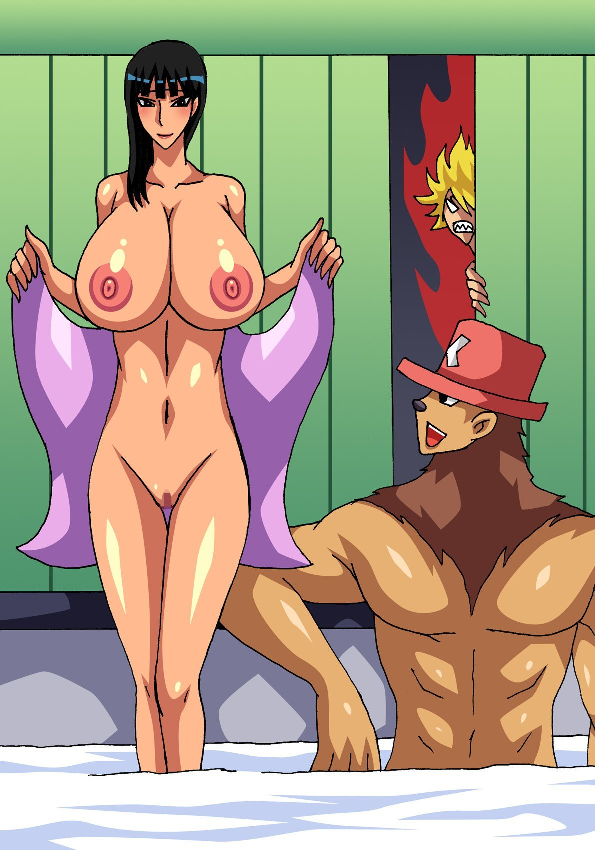 hentai one piece red