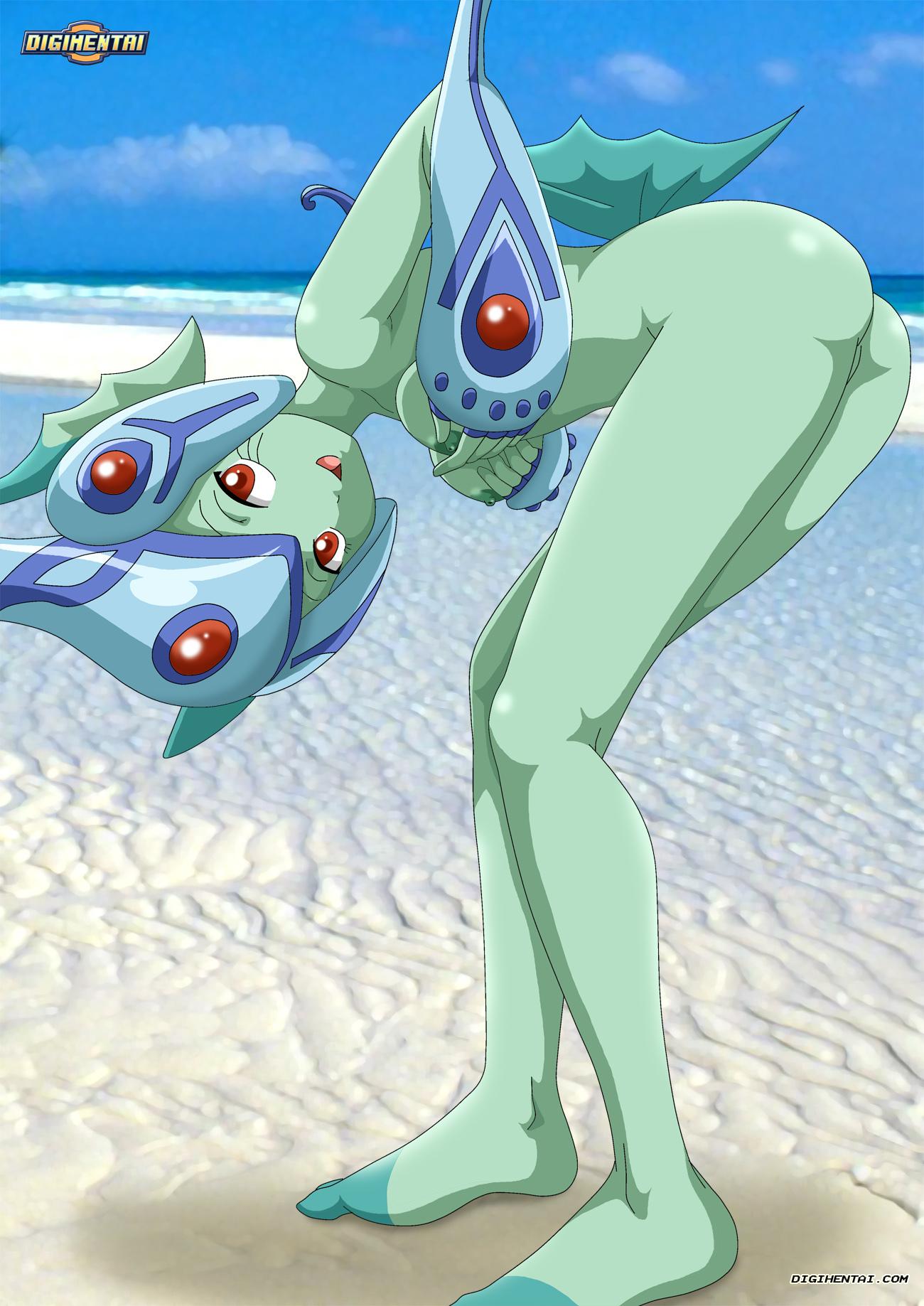 Hentai digimon rika Digimon Hentai
