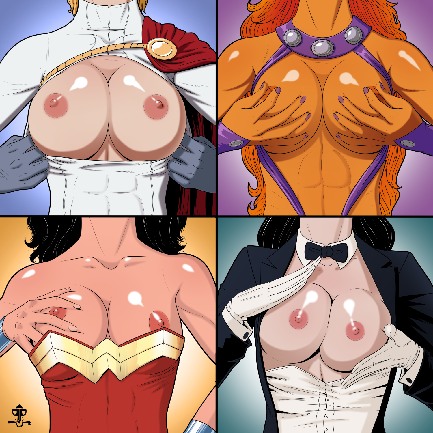 Why did the producers of wonder woman make her have such small boobs