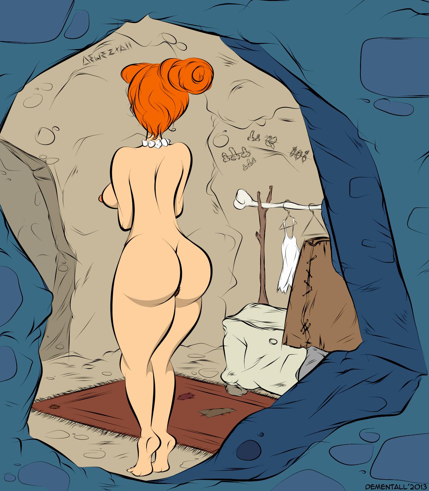 Wilma Flintstone Nude Ele flintstones naked