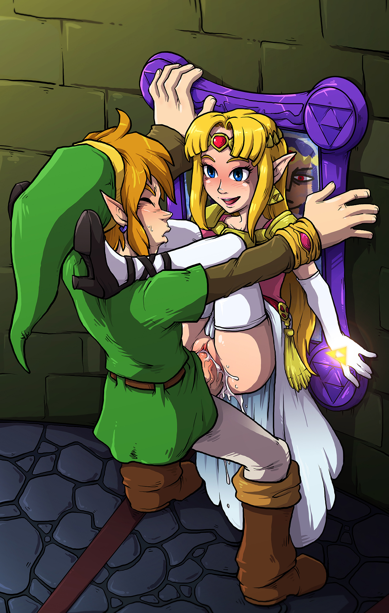 Hentai Princess Fuck intended for link finally got his chance to fuck princess zelda