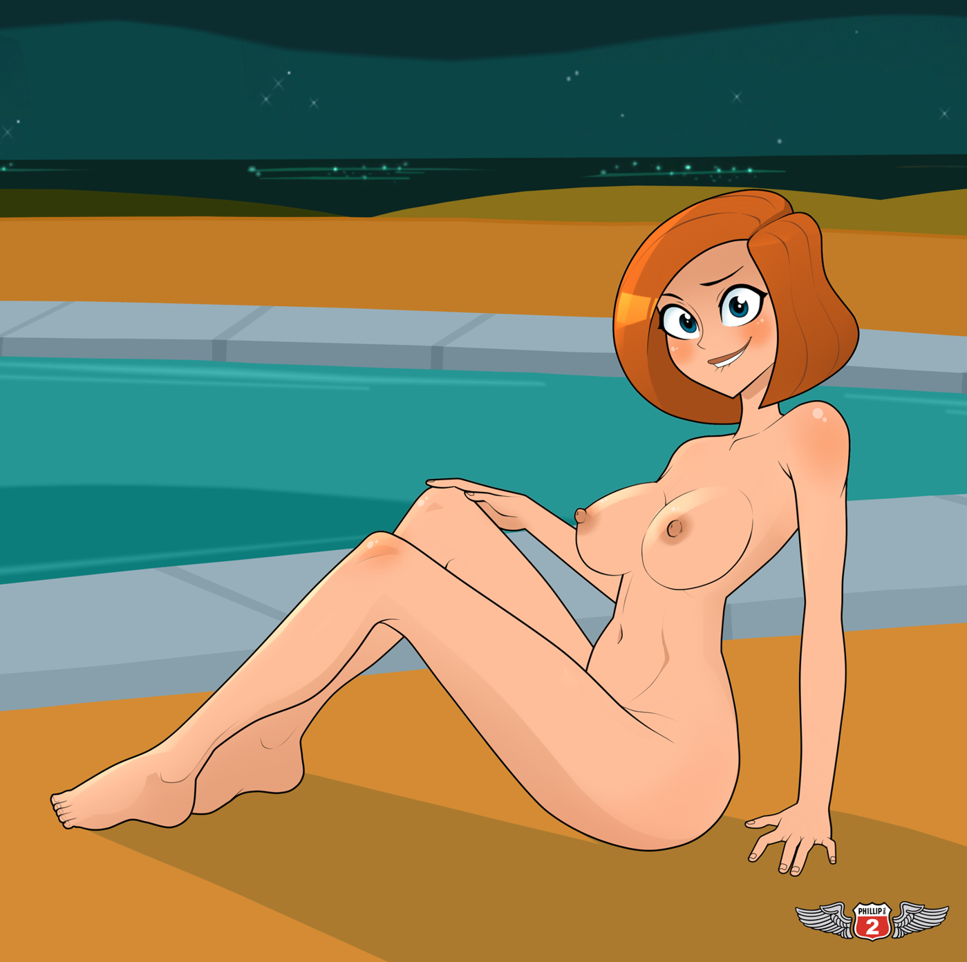 Nude kim possible think