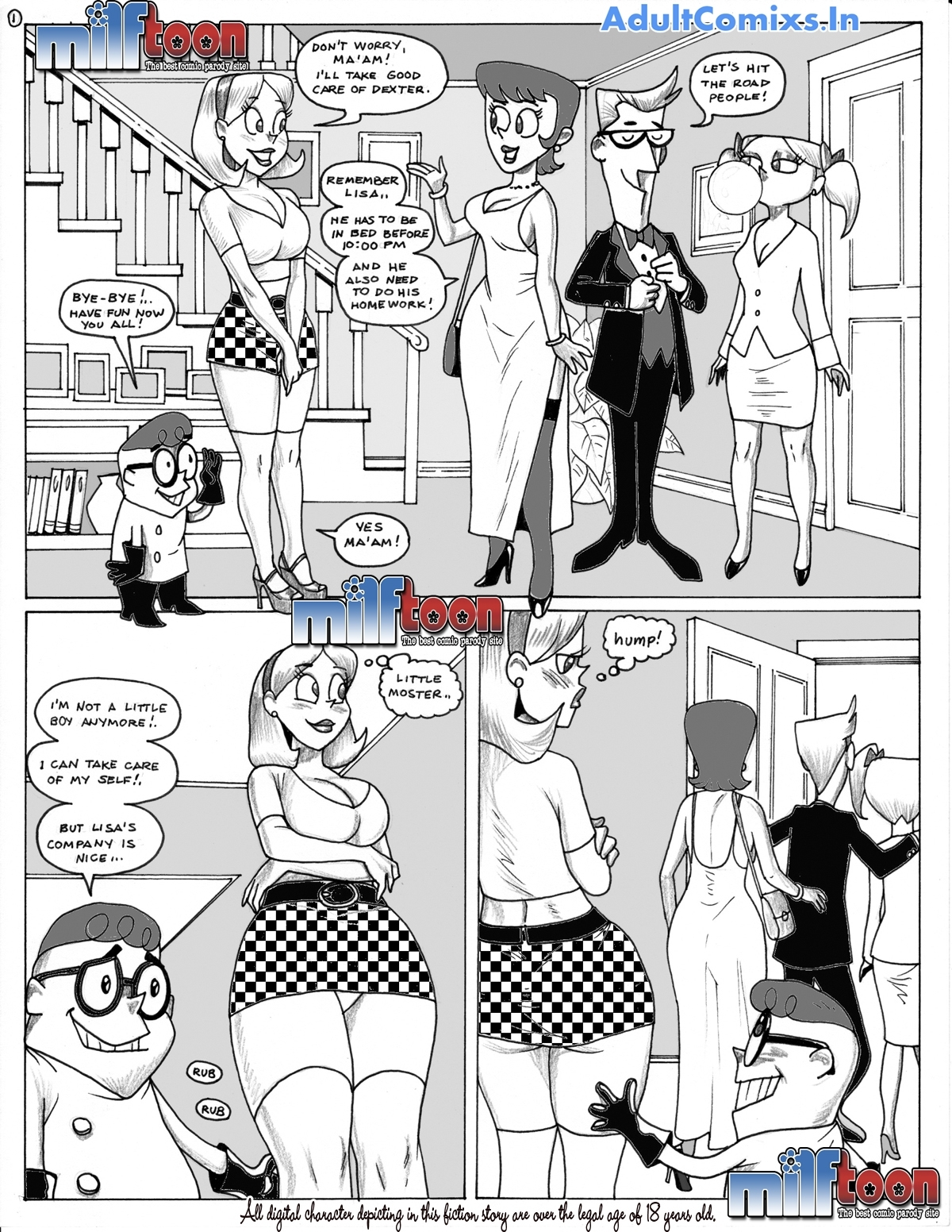 Dexters Lab Hentai Comics