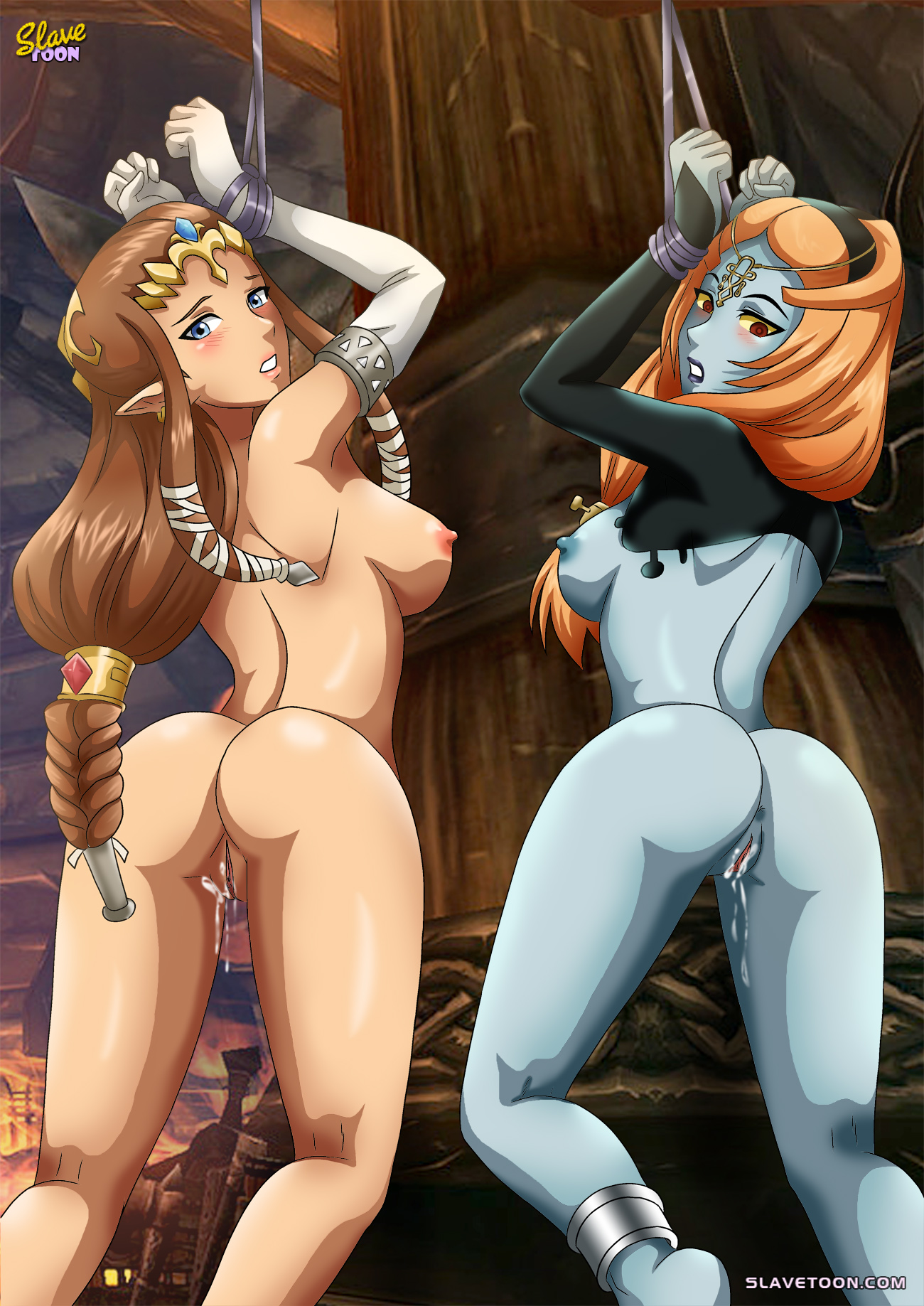 Legend of zelda telma hentai