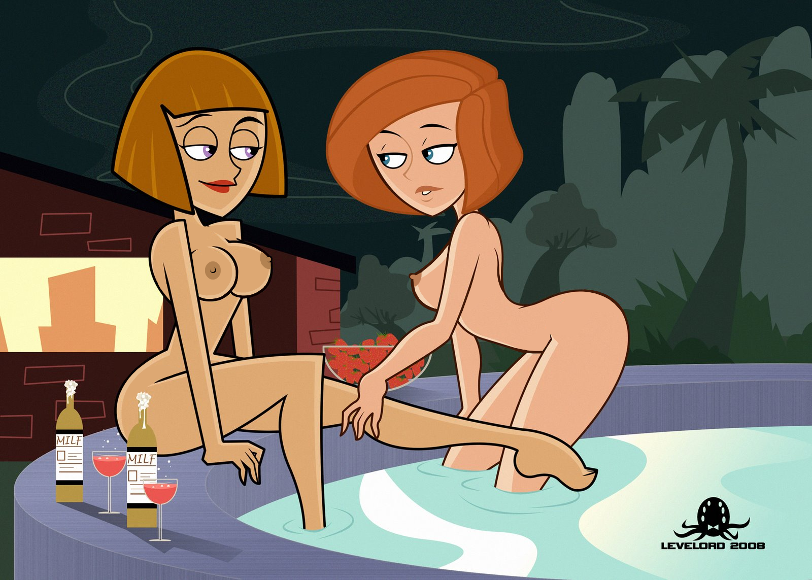 milf sexy cartoon pron
