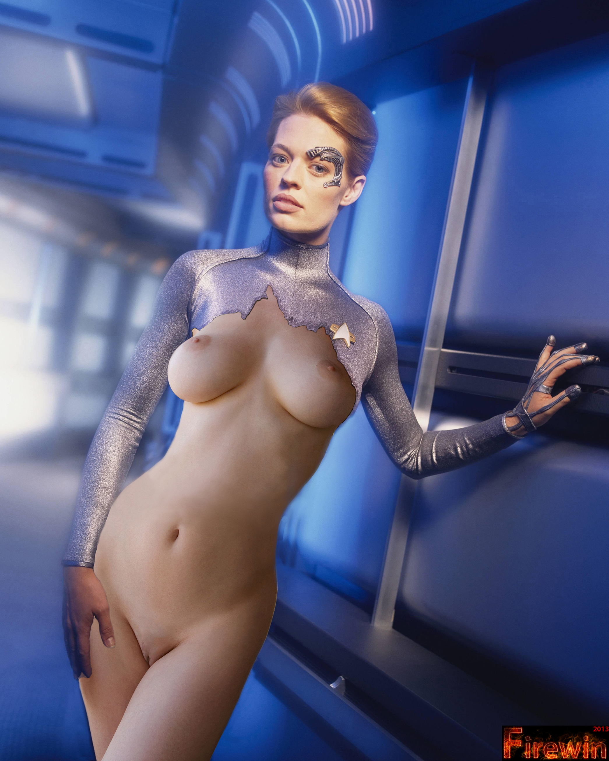 For that Star trek seven of nine porno