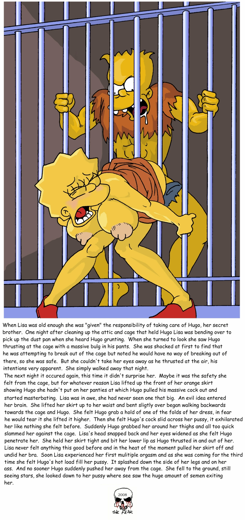 Love to the braggart simpsons croc free adult comix