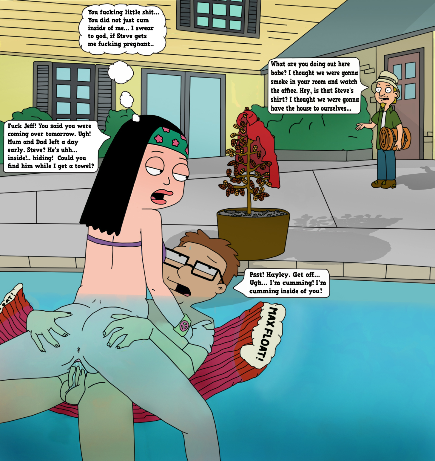 For that american dad naked cum