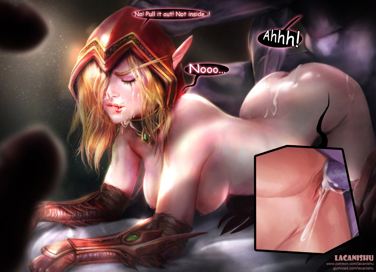 naked world of warcraft fan art jpg 422x640