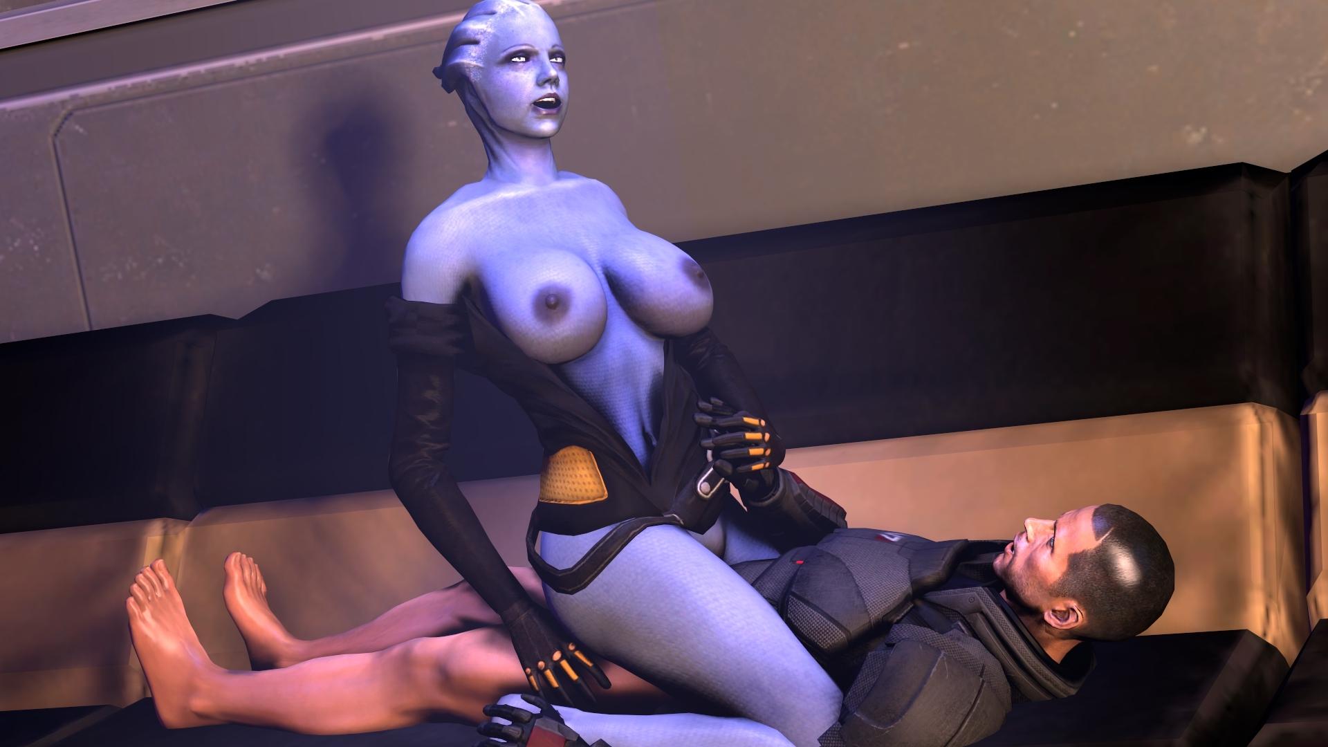 Shepard Mass Effect Liara Porn