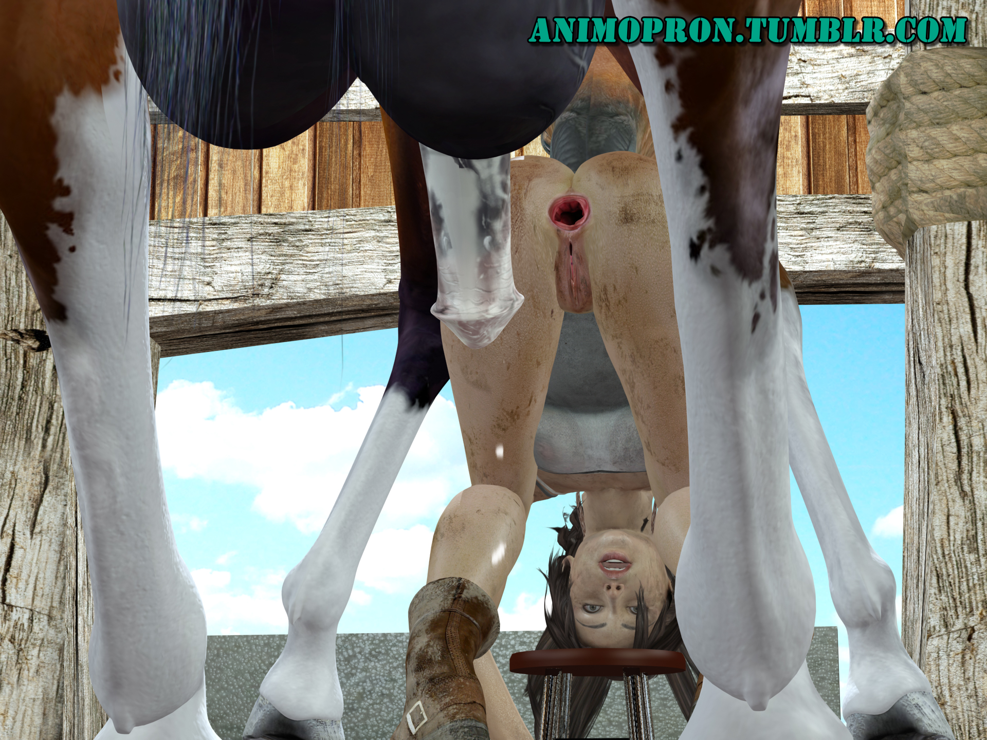 Laura croft fucked by horse