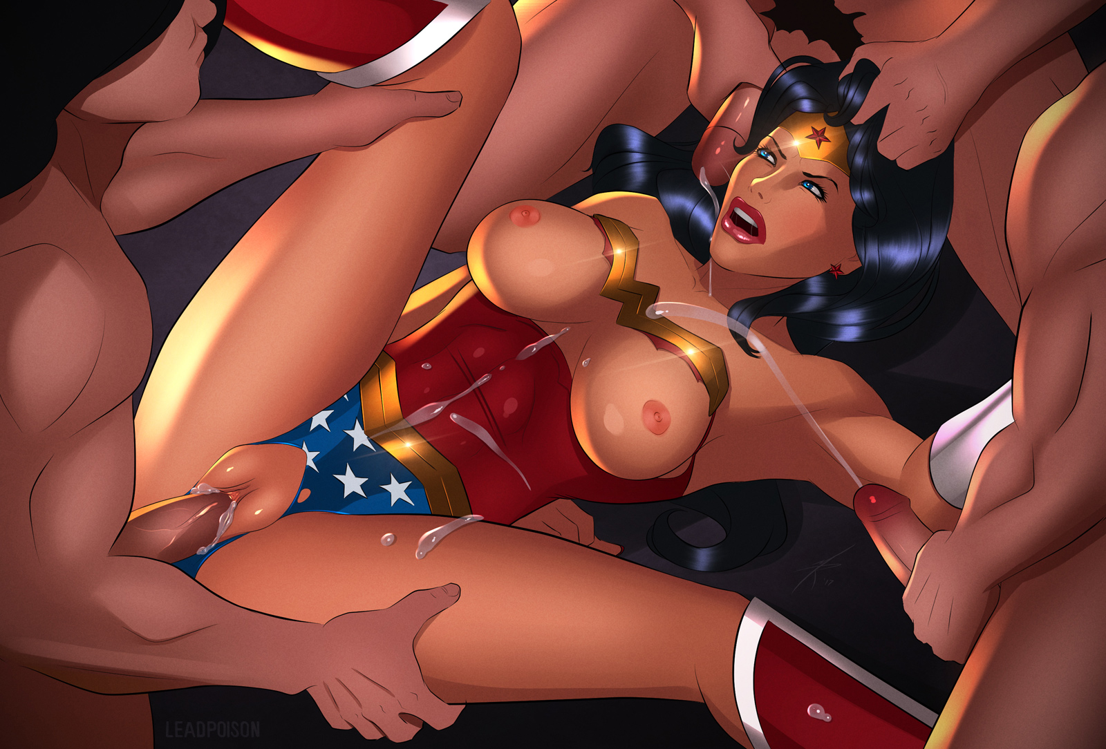 wonder woman naked stories