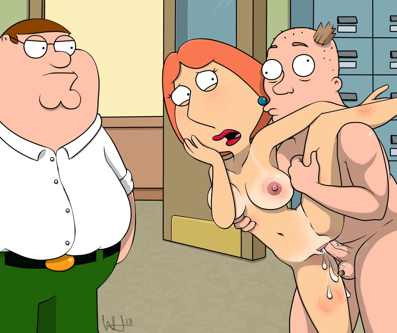 lois griffin taking huge cock