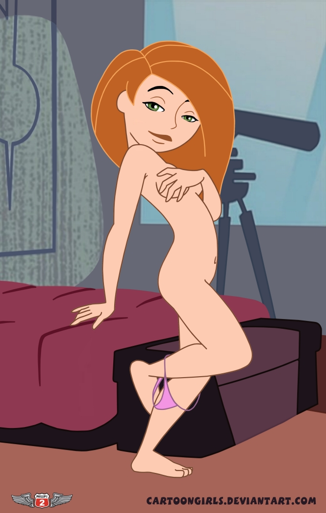 free pictures of naked kim possible