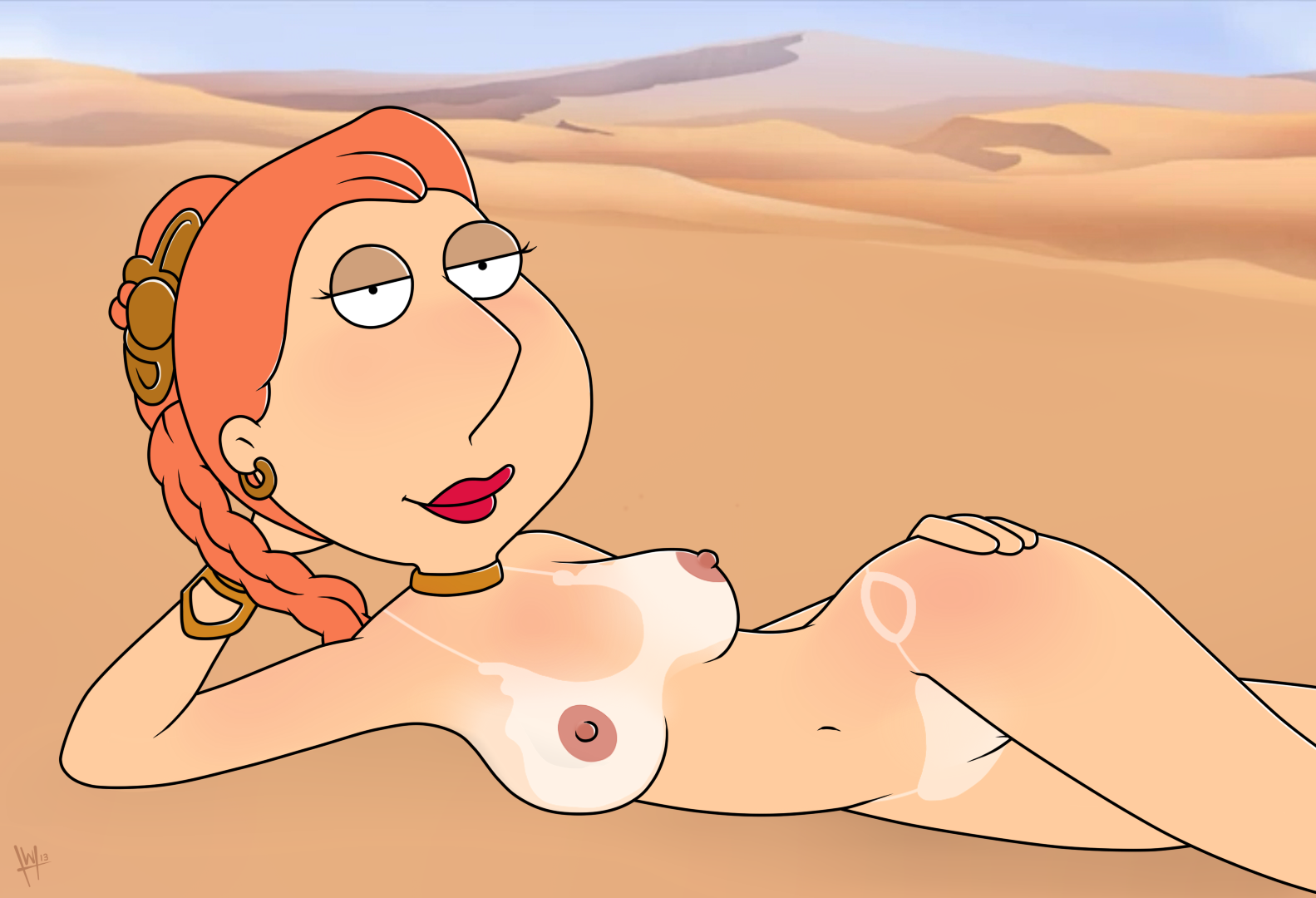 Lois Griffin nude pics are absolutely