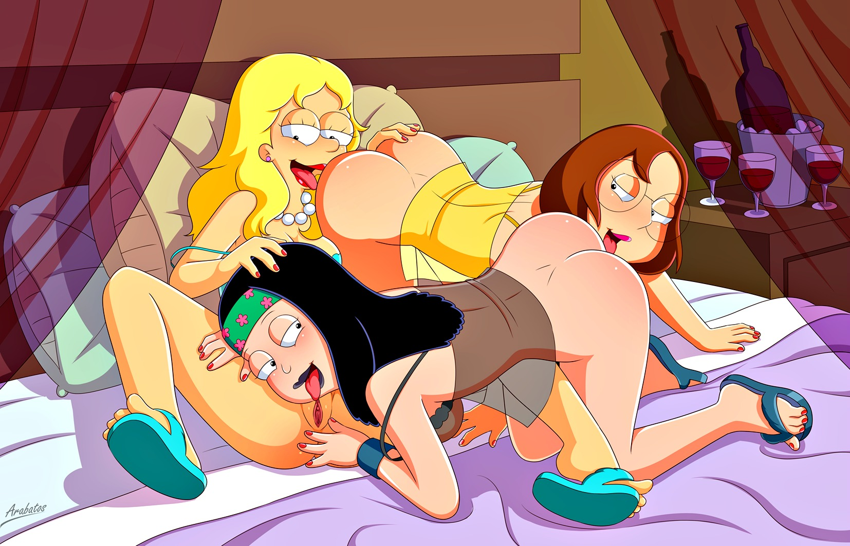 Futurama animation sex