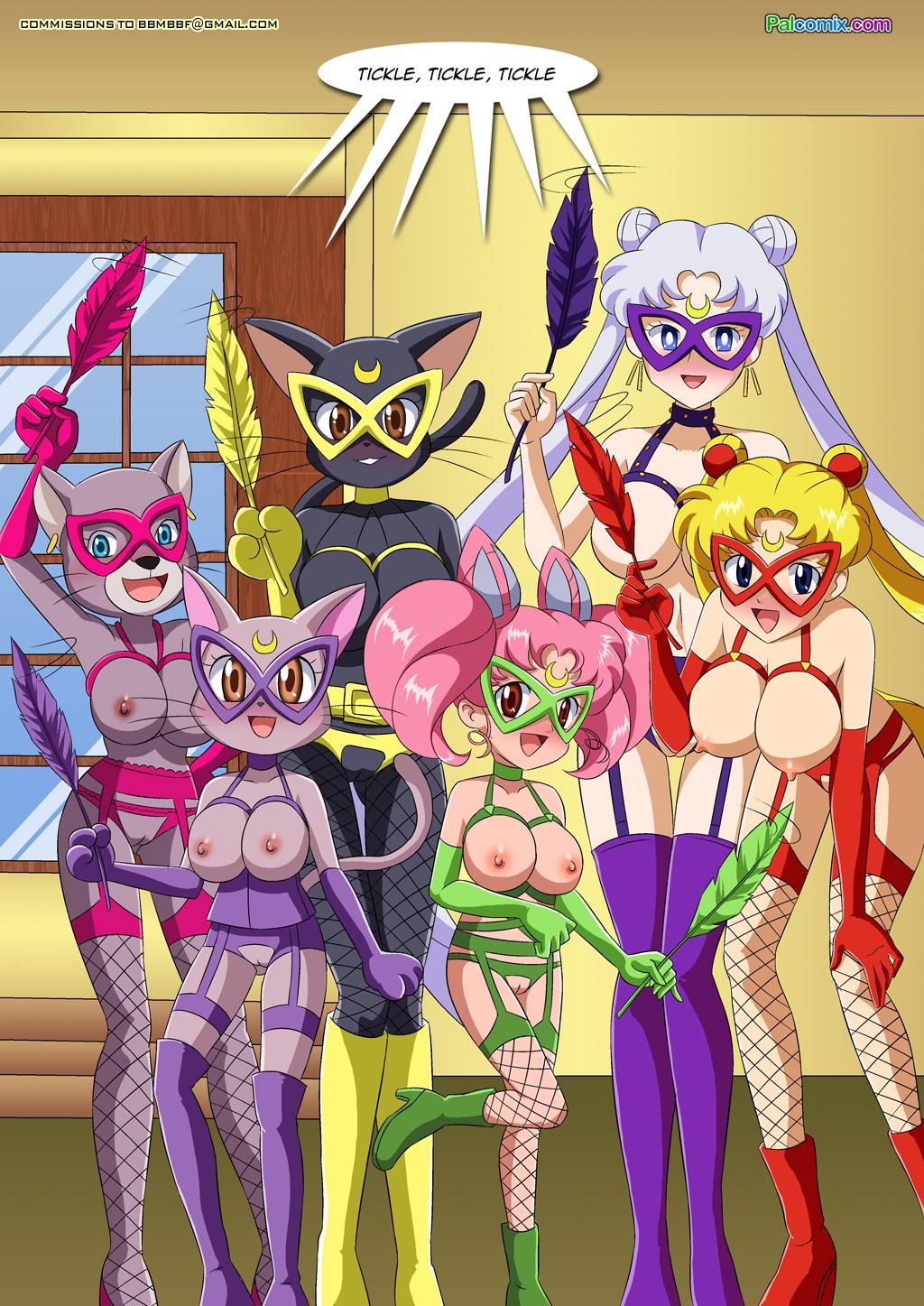 Digimon girls hentai