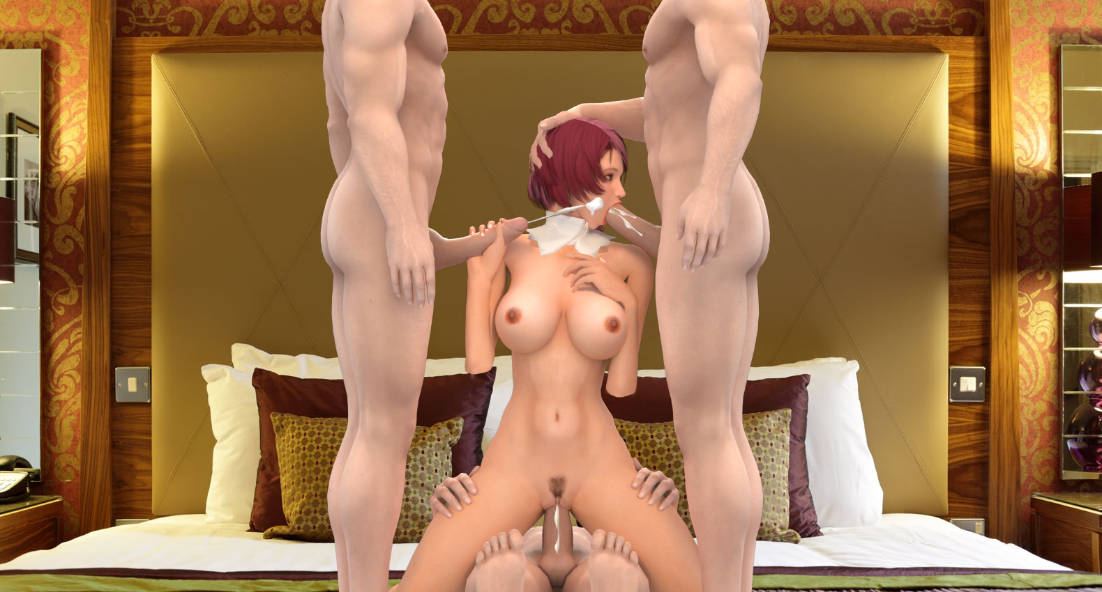 tekken girl characters naked