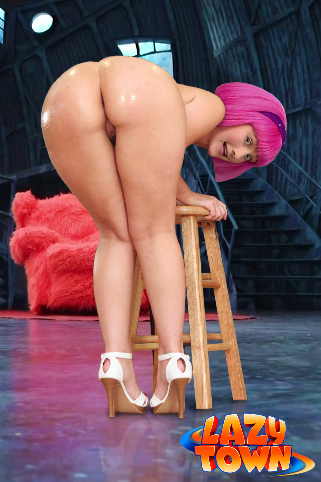 Lazy town stephanie porno