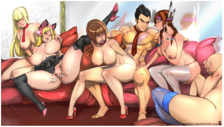 Tekken Asuka And Lili Threesome
