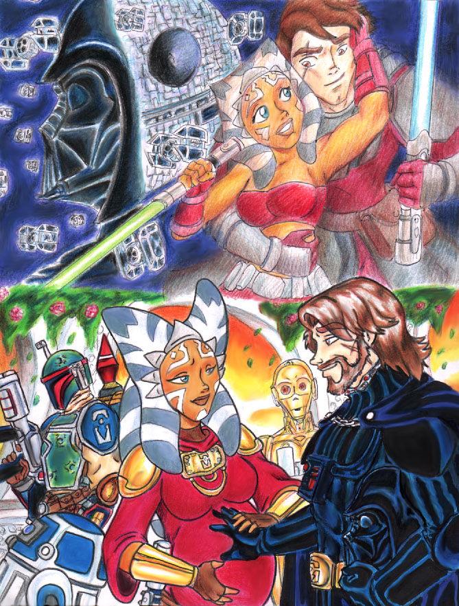 Star wars the clone wars hentai comic