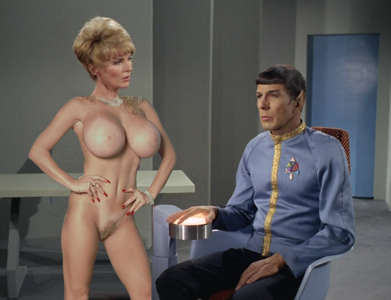Are Star trek women porn possible tell