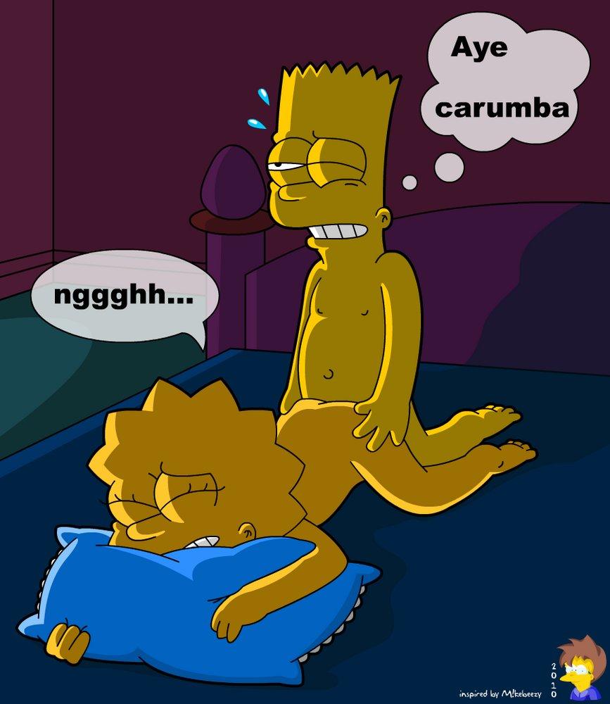 Bart simpson bondage toons