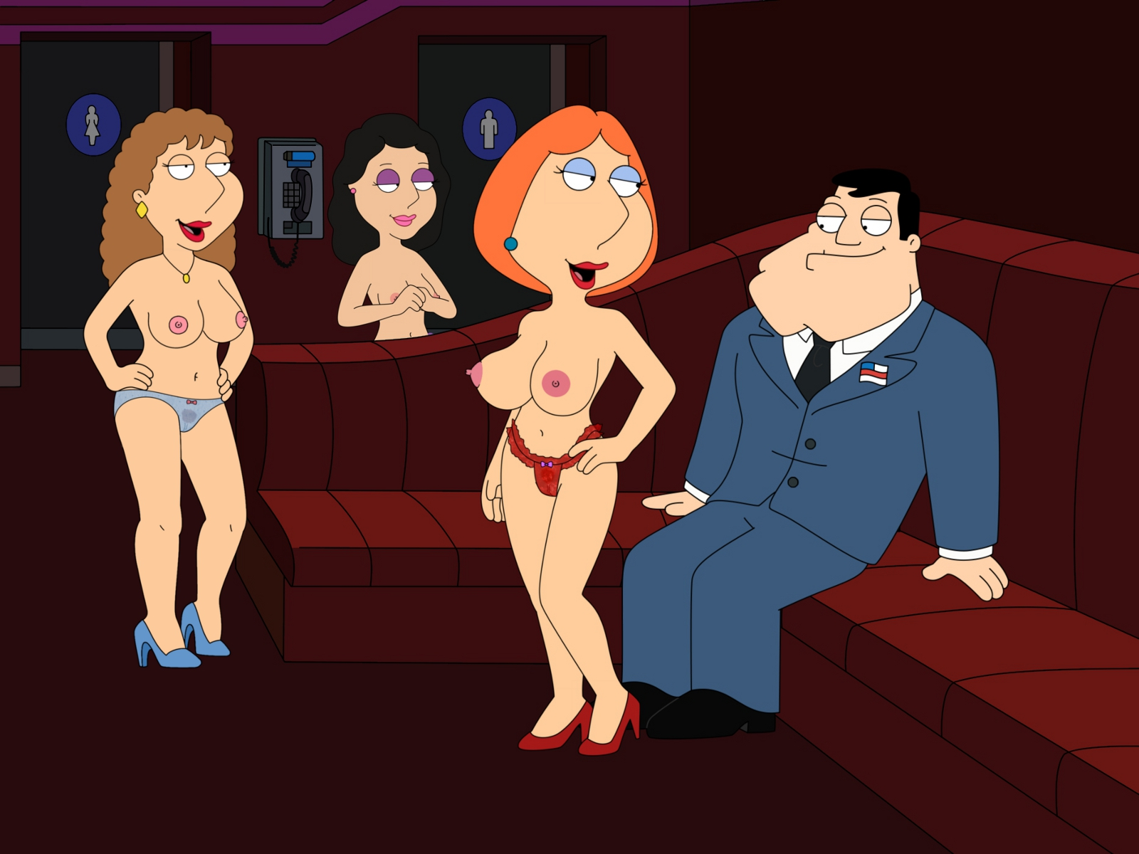 bonnie family guy naked