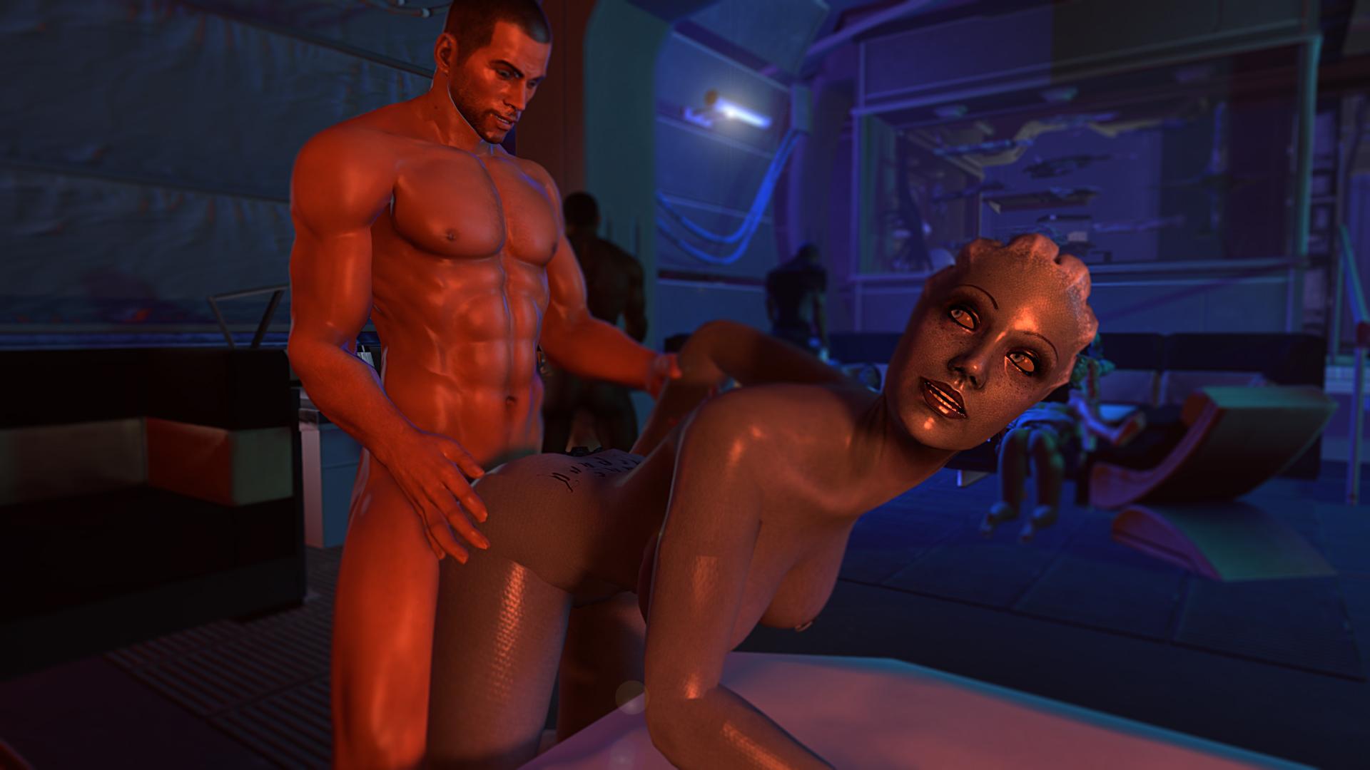 Великолепная идея секс масс эффект можно!))) ти