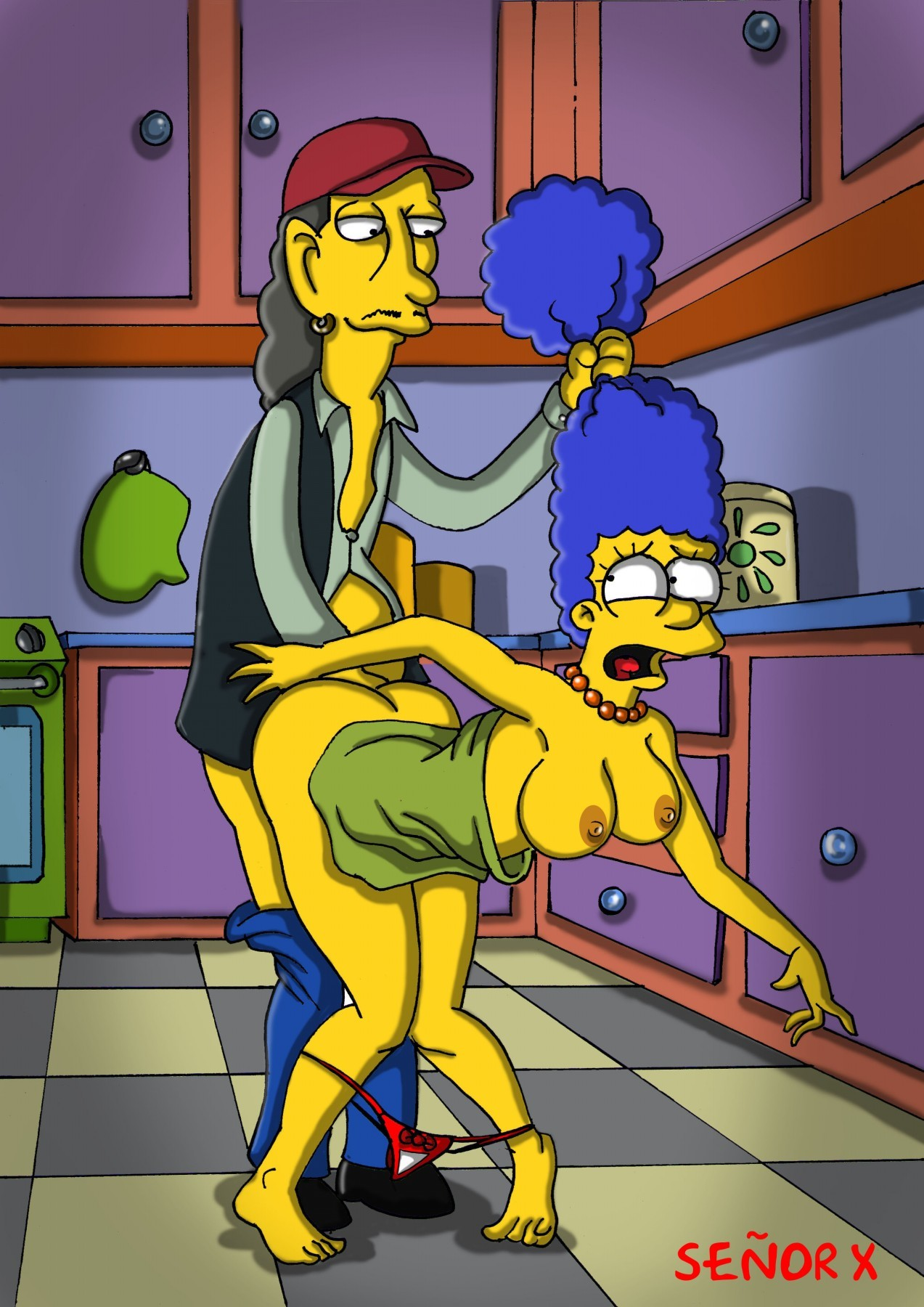 the simpsons sexy girls