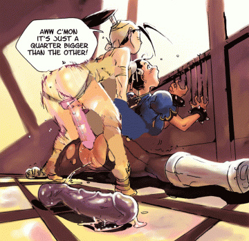 Ibuki want rock rock-hard pound pretty Chun Li