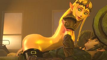 Zelda Hentai Porn GIF