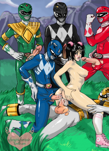 hentai power rangers