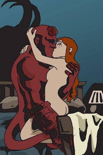 Hellboy cartoon porn