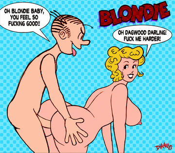 Dagwood Blondie hentai and