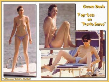 Geena Davis Nude Naked Photo Nue