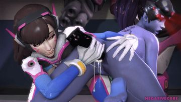 Widowmaker knows that D.Va has the best toys